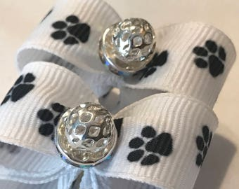 Dog, Pet Grooming bow Set.  ShihTzu, Poodle, Maltese or Puppy