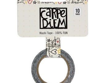 Carpe Diem 100% Fun Washi Tape