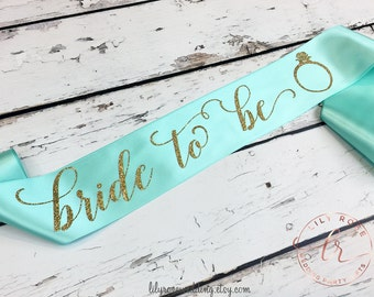 Bachelorette Party Sash, Bride Sash, Bridal Sash, , Bride to be Sash, Mrs Sash, Future Mrs Sash, Glitter Sash, Maid of Honor, Bridal Party