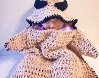 Crochet Oogie Boogie Cocoon Pattern