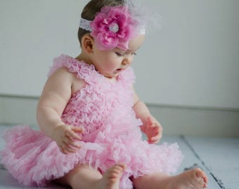 Pale Pink Baby Tutu Dress Pettidress