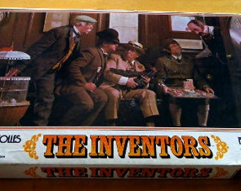 Vintage 1974 THE INVENTORS GAME Complete
