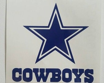 Dallas Cowboys Decal / yeti decal / car decal / laptop decal