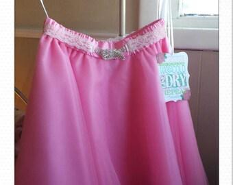 ladies paris pink tulle skirt
