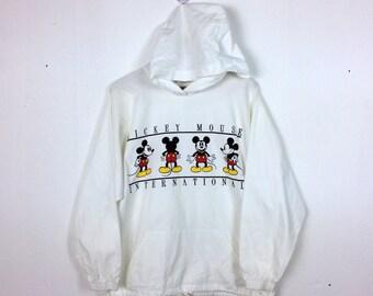 /Minnie Shirt /Disney suéter /Vintage el tamaño pequeño de sudadera con capucha Mickey Mouse Vintage camiseta Mickey Mickey Mouse/Vintage Reggae de /Mickey /Irie