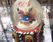 Holiday sale! Musical Sno Motion Waterglobe Vintage