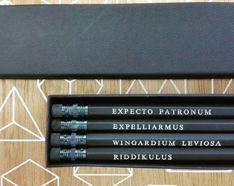 Harry Potter Spell Pencil Set
