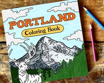 Portland Coloring Book