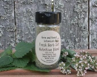 Fresh Herb Salt - Nutritive Blend