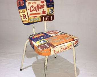 Vintage 1960's kitchen chairs