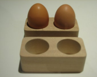 Two Double Egg Cups