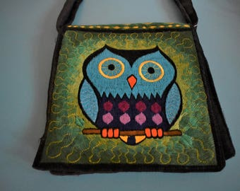 Handmade Owl Purse, Beautiful and Unique