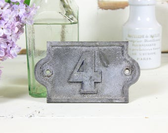 French House Number Plates 4, 26