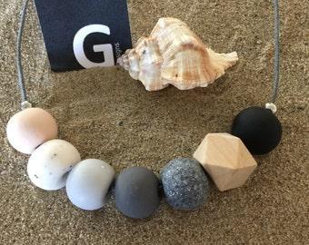 Handmade Polymer Clay Necklace by GDesignsJewellery - 'NELLIE'
