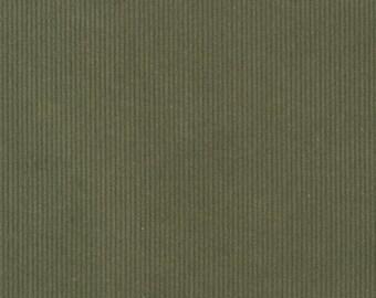 Olive Corduroy - Robert Kaufman fabric