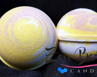 Oatmeal Milk & Honey Bath Bomb | Bath Bombs | Bath Fizz | Vegan | Handmade