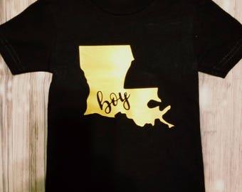 Louisiana boy shirt