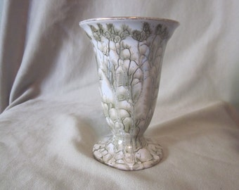 Delftware Holland Marbled  Vase Hand Painted