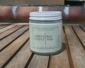 Rain Water Scented Soy Candle
