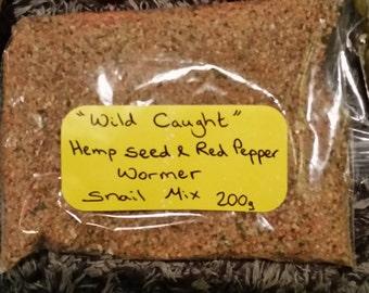 Wild Caught wormer mix 200g bag