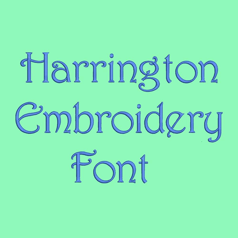 Harrington Bold Free Font