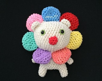 Rainbow Loom Flower Bear