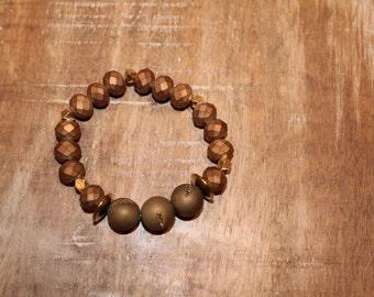 Bronze Accent Bracelet