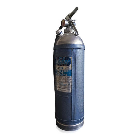Decorative Fire Extinguisher vintage fire extinguisher chanel decorative object / fyr-fytr