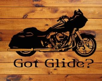 H-D RG Motorcycle Decal