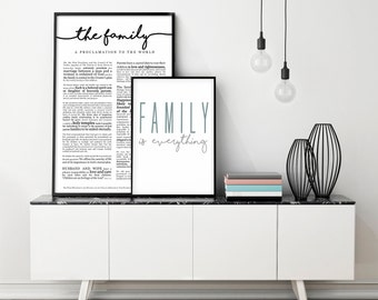 """Family is Everything- Print 18 x 24"""""""