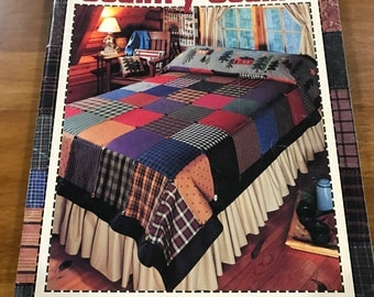 Leisure Arts Country Seams pattern book