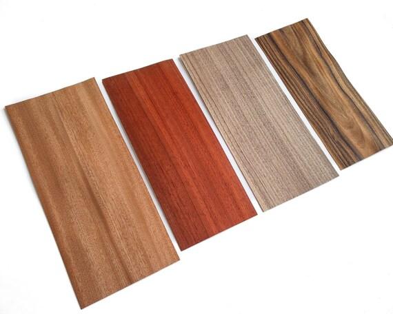 The Ringmaker's Mix 2: 8 sheets of real wood veneer M4