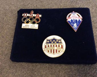 1996 Olympic Pins Team USA, Set of Three