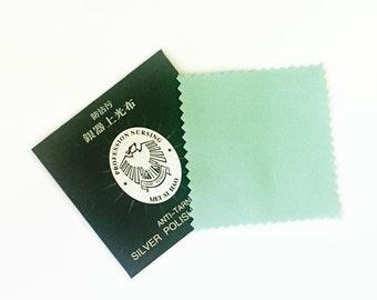 Silver Polishing Cloth, Anti-Tarnish Cloth, Sterling Silver Cleaning Cloth, Jewellery Cloth, Jewellery Care, UK