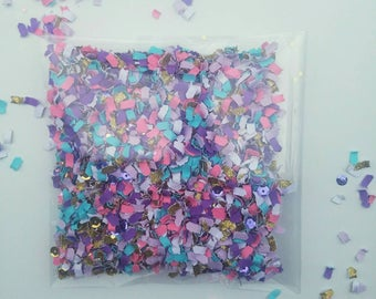 Party confetti, paper confetti,unicorn confetti