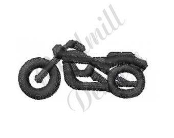 Motorcycle - Machine Embroidery Design
