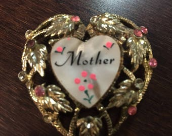 Mother Brooch Pin