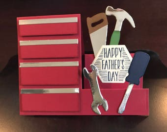 Handmade Step-Up Father's Day Card