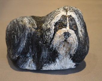 Collectable Stone Shih Tzu