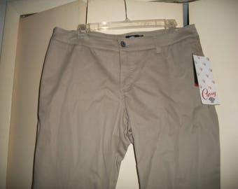 Original MOGAN DICKIES GIRLS Twill SKINNY PANTS Stretch Slim Work School