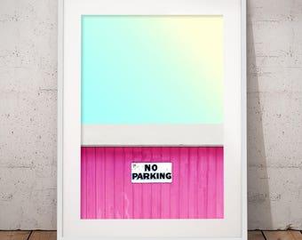 No Parking - Wall Art Print