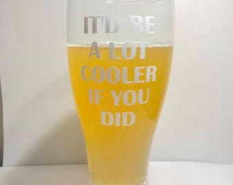 Dazed and Confused Beer Glass