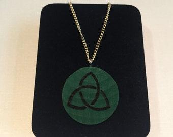 Triquetra Pendant Necklace