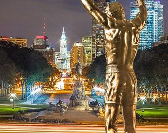 Rocky Statue Etsy