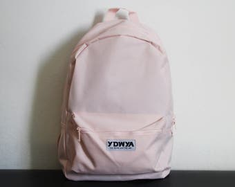 Casual Pastel Backpack - Daypack Rucksack - Pastel Rucksack - Pastellrosa - Pastellfarben / rosa / pink / pastel colors / colorful - YDWYA