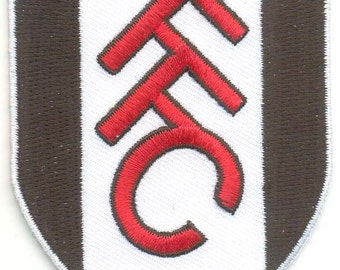 FULHAM FC Football Club England EMBROIDERED Patch