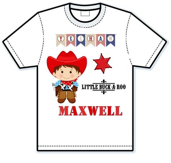 Cowboy personalized shirts