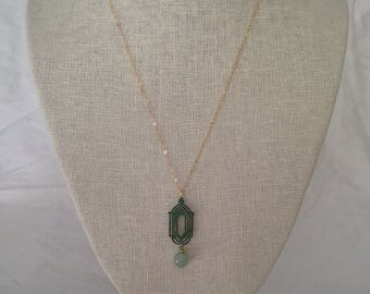 Delicate Art Deco necklace
