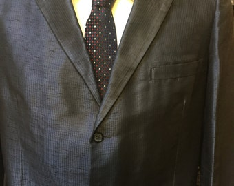 1980s does 1960s: one sharp men's suit!