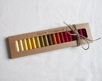 20 threads of silk Laborita of Wolle. Antique. Series 1